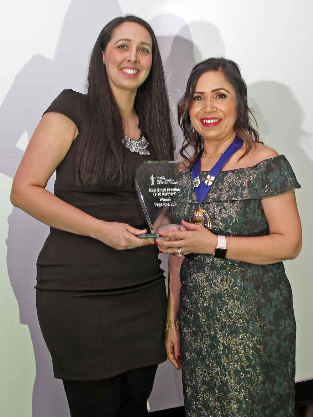 Page Kirk recognised in accountancy awards
