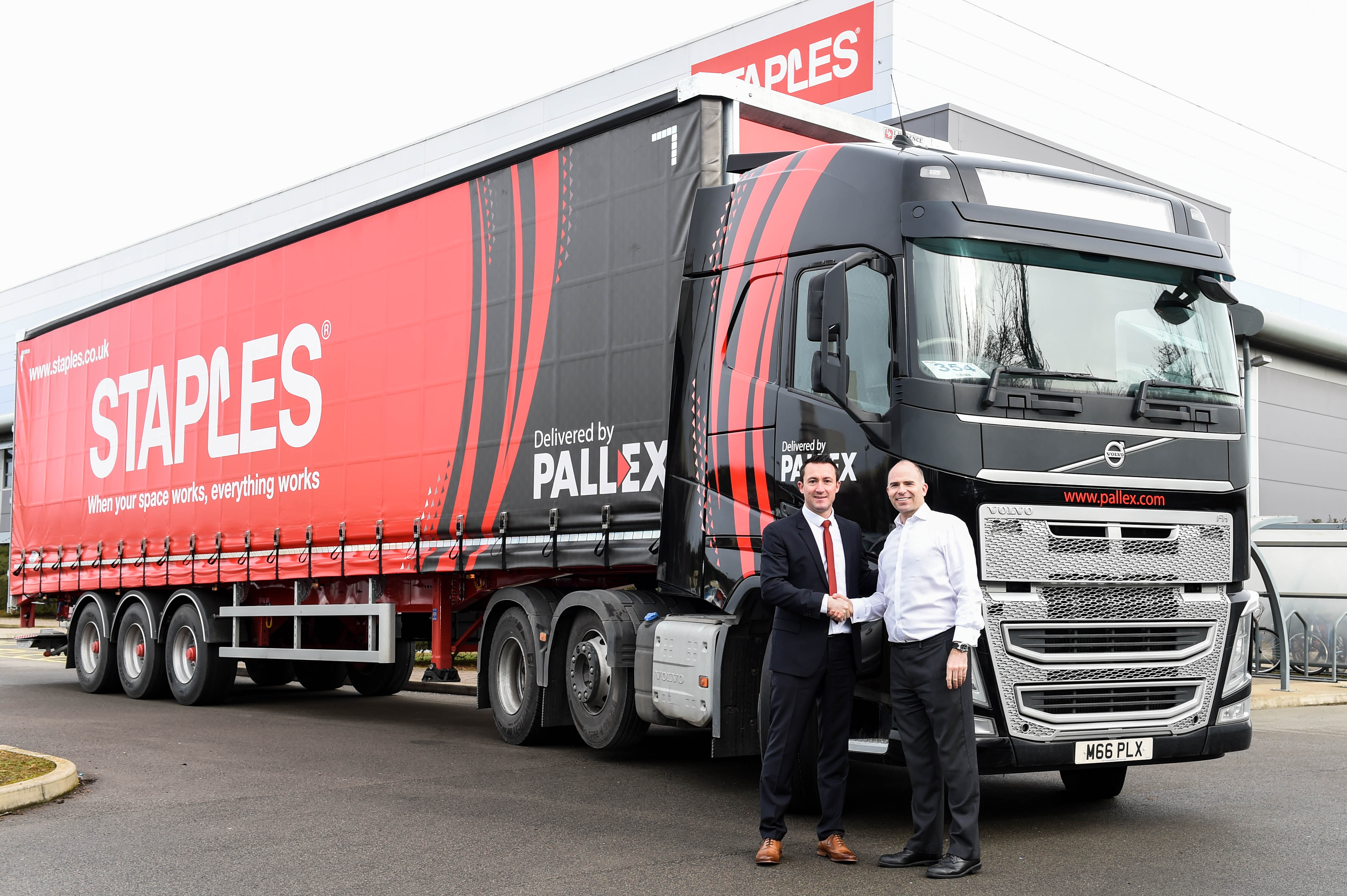 Major new contract strengthens Pall-Ex and Staples Solutions partnership