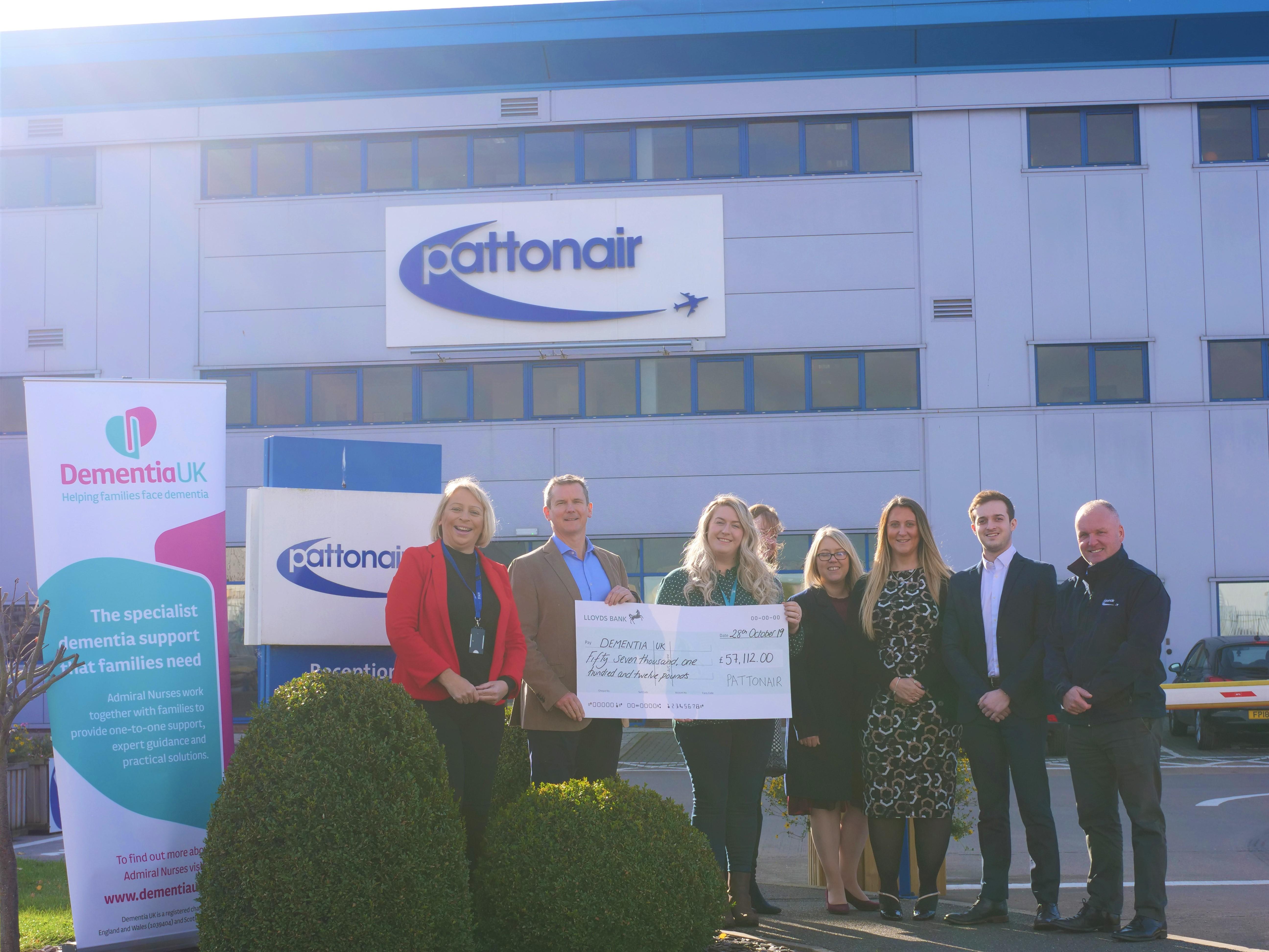 Pattonair Autumn ball raises thousands for Dementia UK