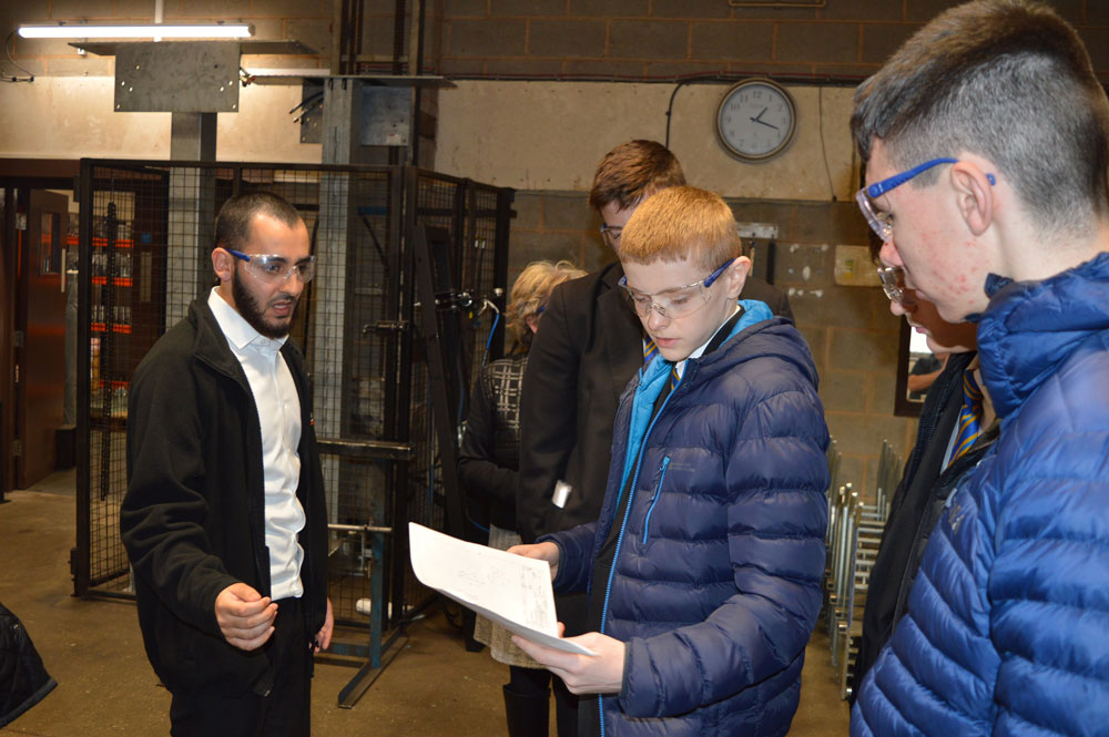 Eckington School's aspiring engineers discover career opportunities