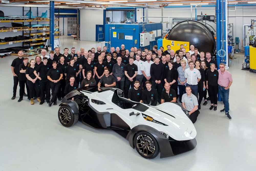 Pentaxia welcomes the BAC Mono R to Derby