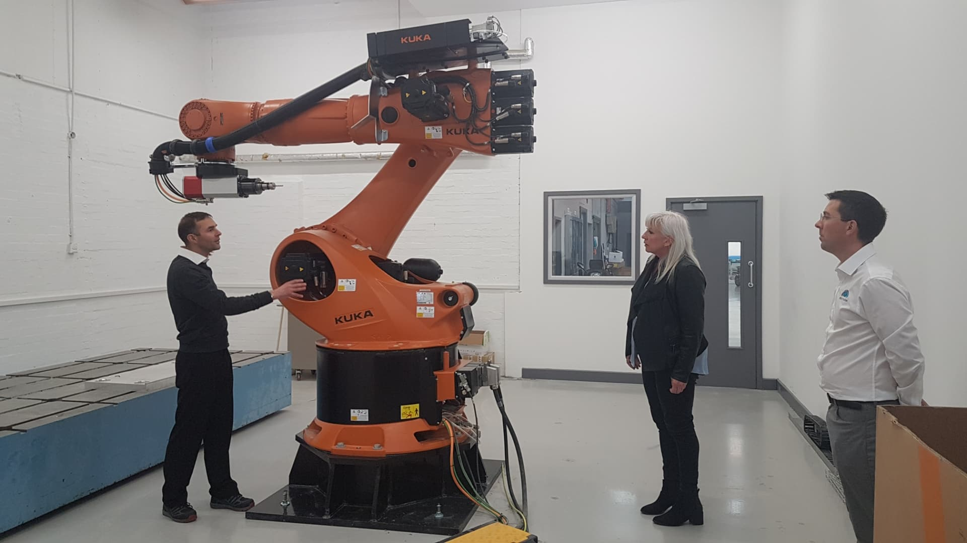 Pentaxia Welcomes Local MP on site visit
