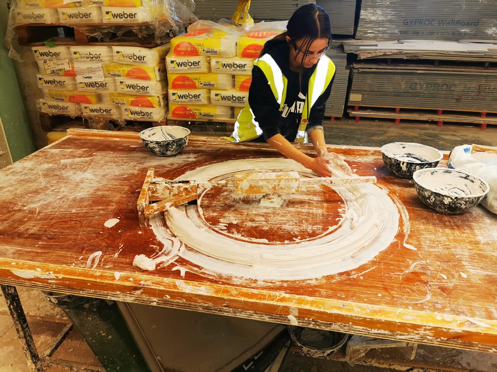 'Swap Shop' scheme helps shortfall in plastering supplies