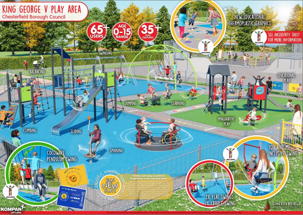 Families set to benefit from new play and fitness facilities in Staveley