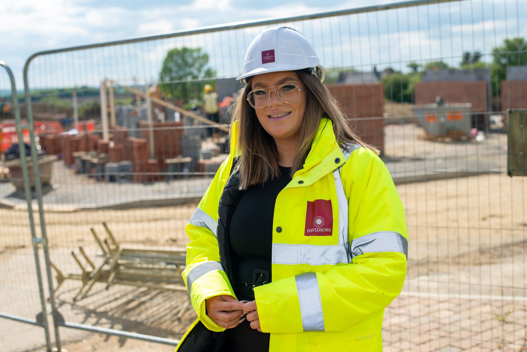 Apprentice site manager aims to build a successful career with Davidsons Homes