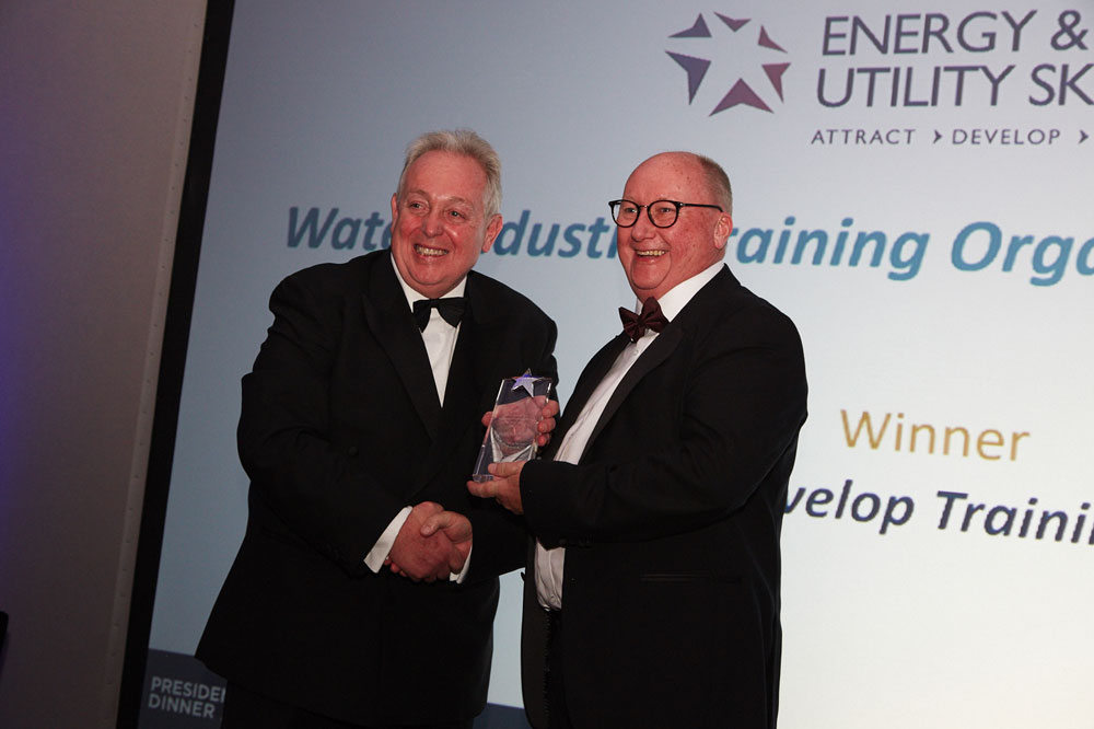 DEVELOP TRAINING SECURE PRESTIGIOUS WIN AT  INSTITUTE OF WATER ANNUAL CONFERENCE