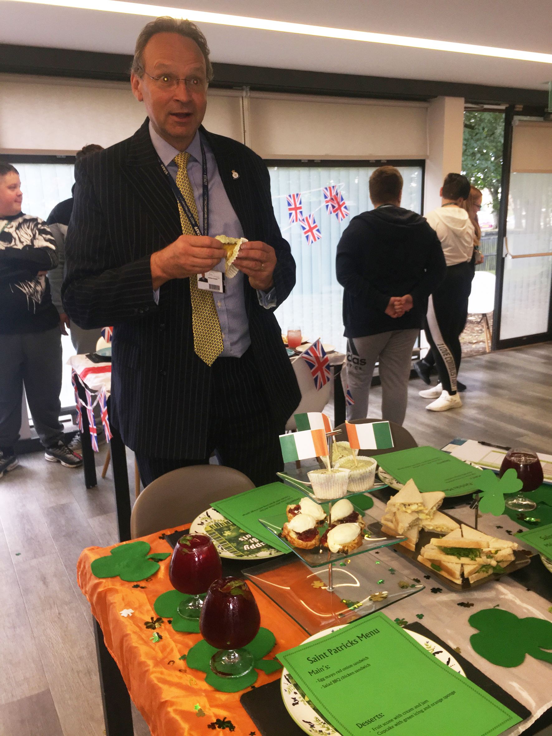 Afternoon tea gives students a tasty challenge