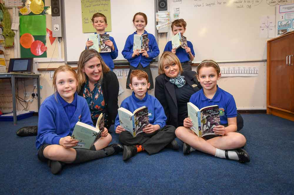 David Wilson Homes donation aids storytime at local school