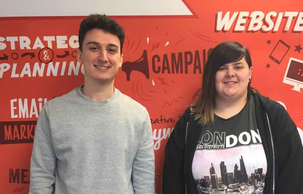 Two new hires for marketing and design agency