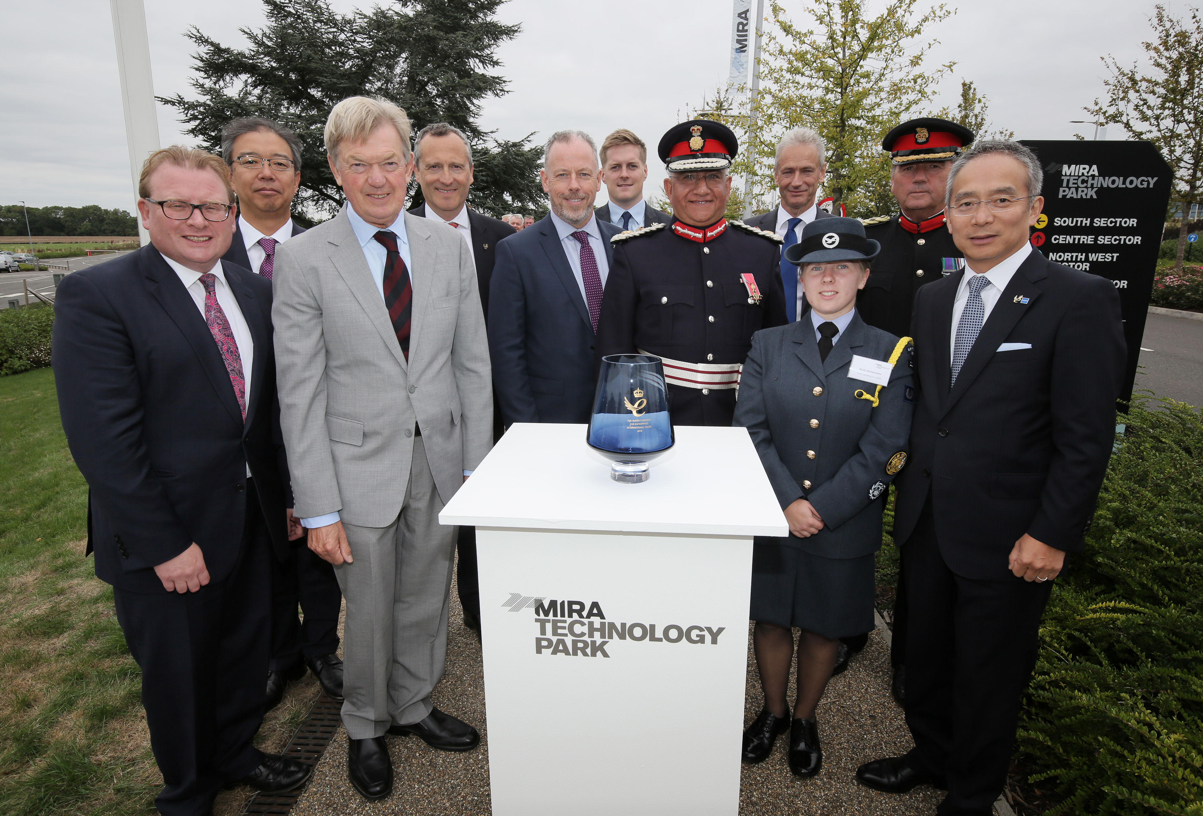 MIRA Technology Park Awarded for its Sustained International Growth