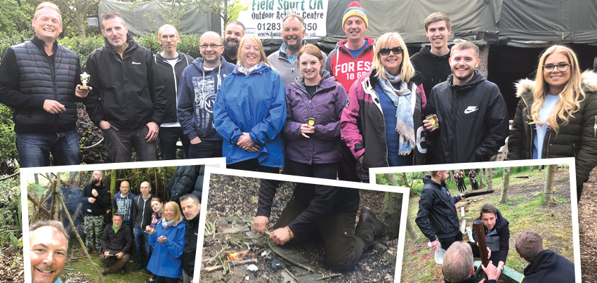 Quiet Storm unveils new business focus to team at staff away day