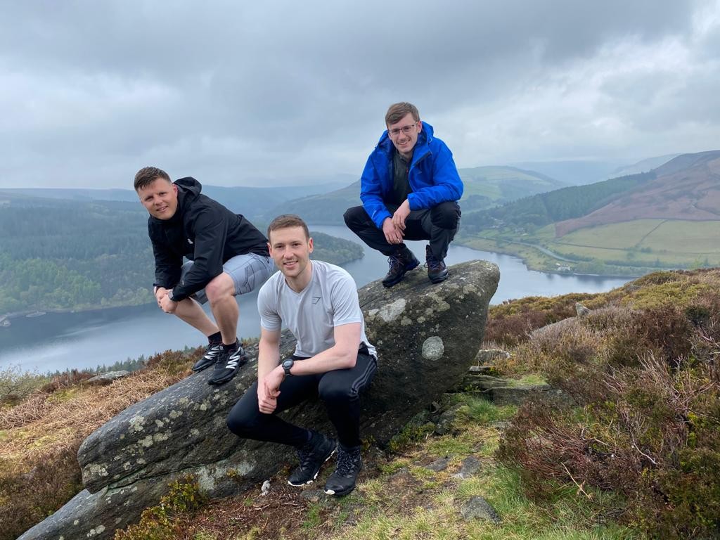 Nottingham colleagues take on challenge for children's hospice