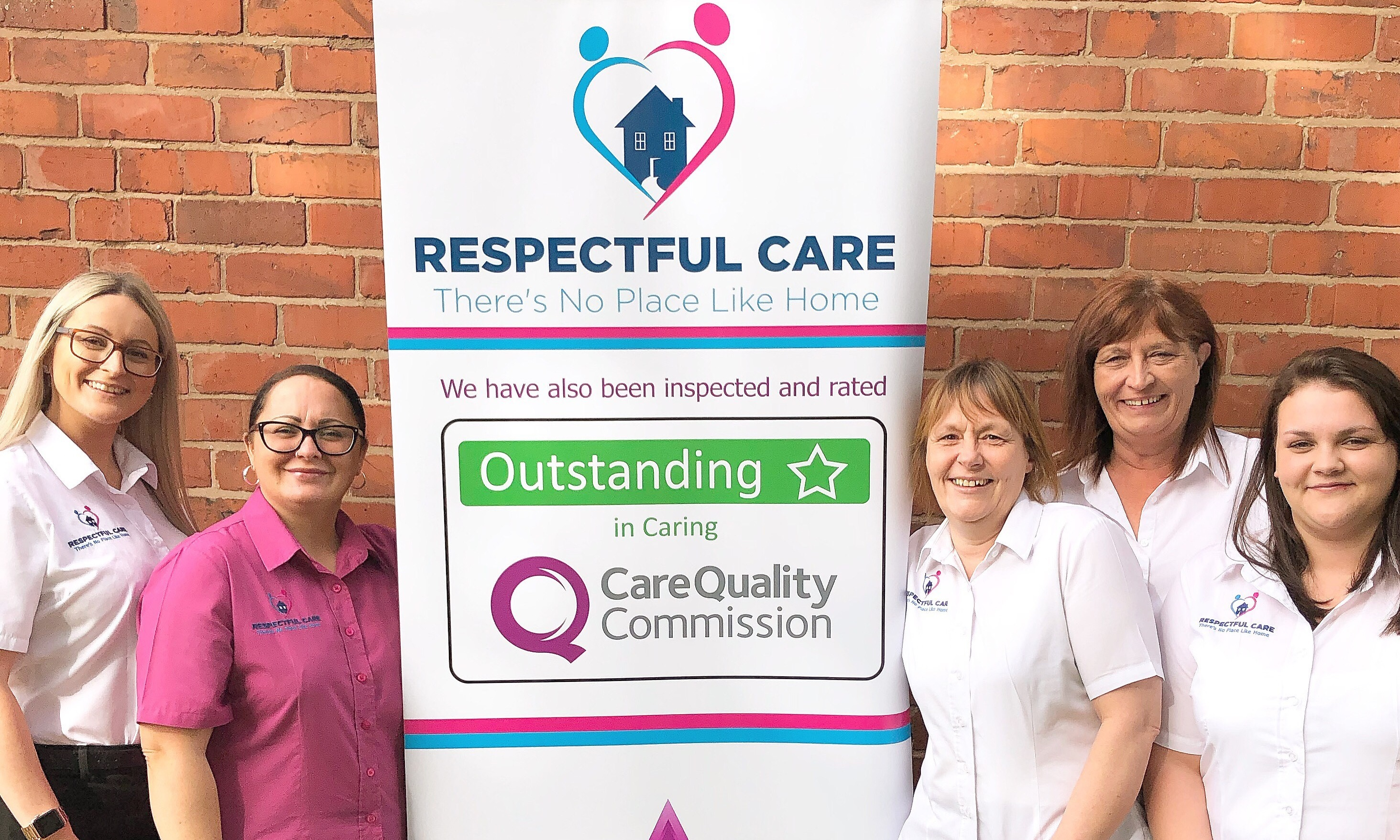 Caring company proud of outstanding recognition