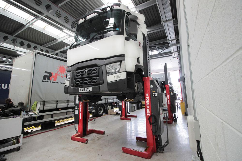 Award-winning Renault Trucks dealer chooses TotalKare for new workshop