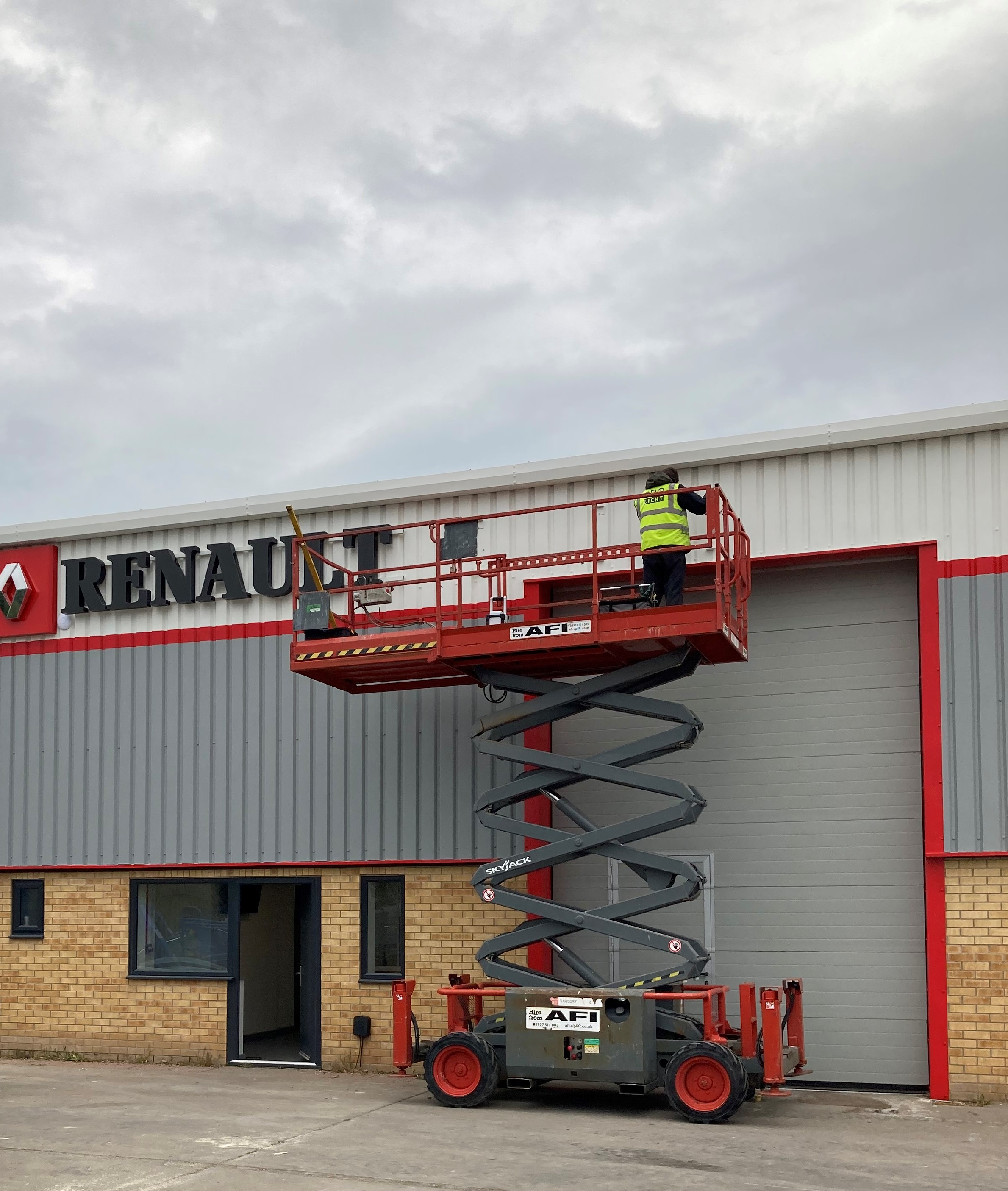 New Site on Track to Bring NEW Service to Local firms