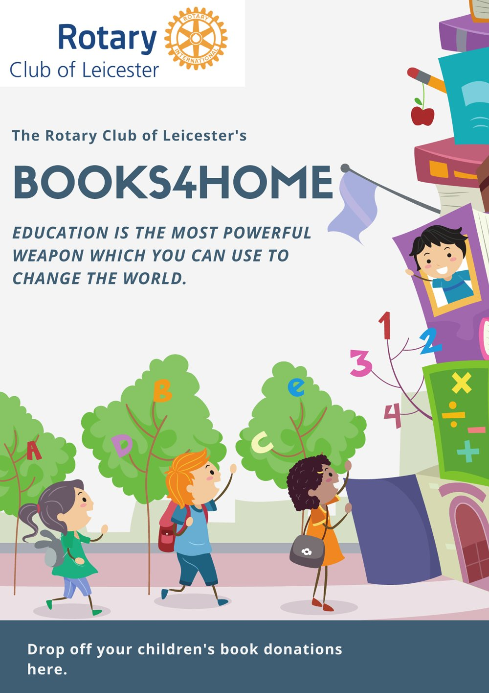 Leicester's Books4Home appeal