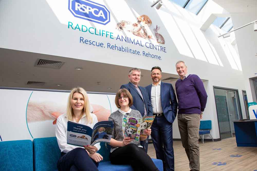 Modular buildings firm completes new 'forever home' for RSPCA Radcliffe centre