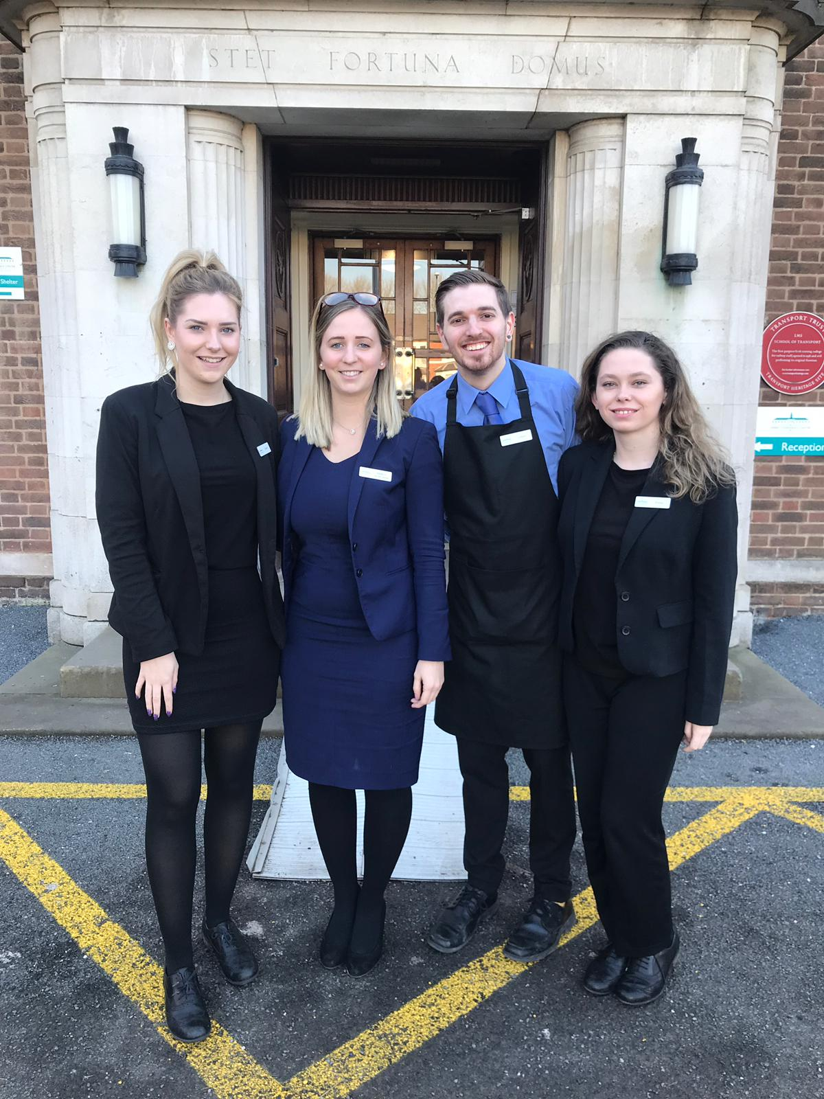 The Derby Conference Centre continues to help students take the first steps in their careers