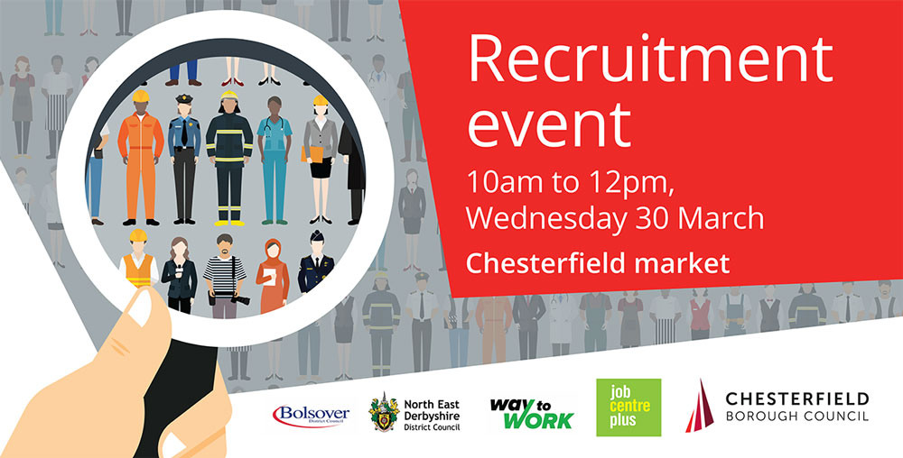 Chesterfield Borough Council - Find your next career at the Chesterfield Market Recruitment Event