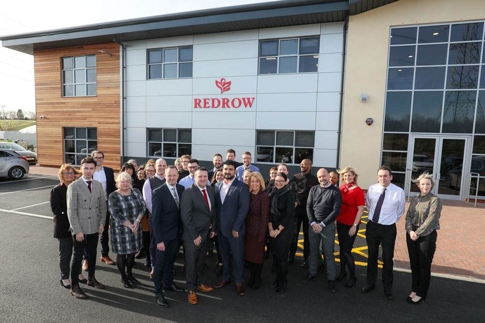 Local housebuilder celebrates third anniversary with office expansion