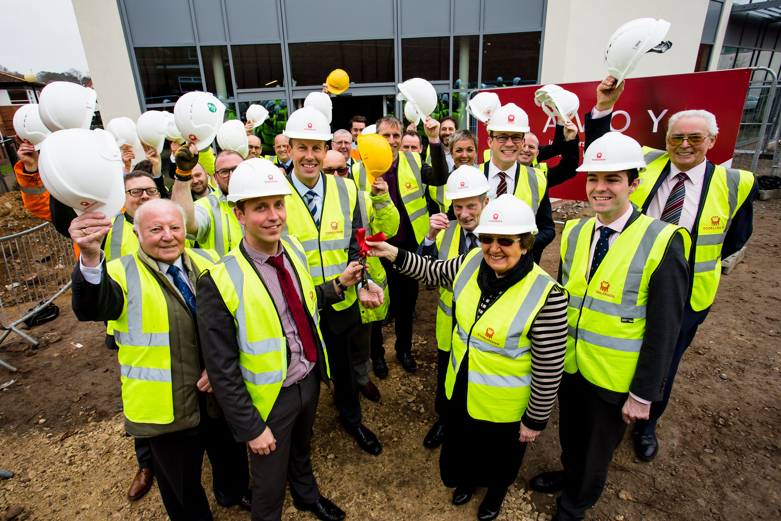 Another celebratory milestone for Grantham's town centre regeneration