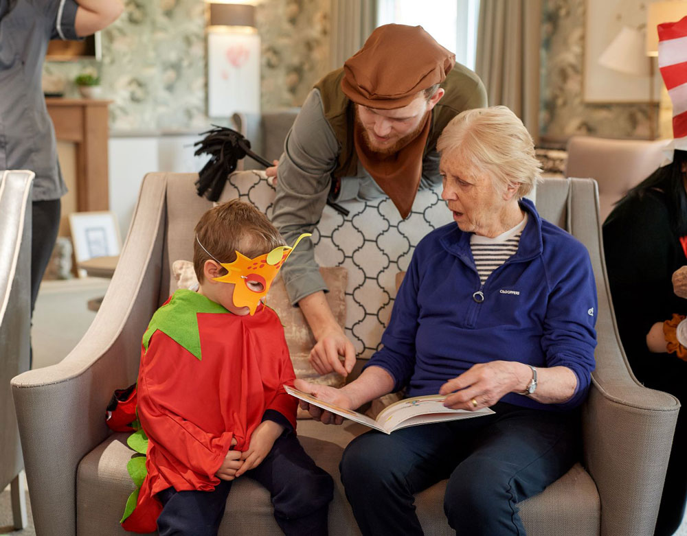 Young and old share love for reading on World Book Day