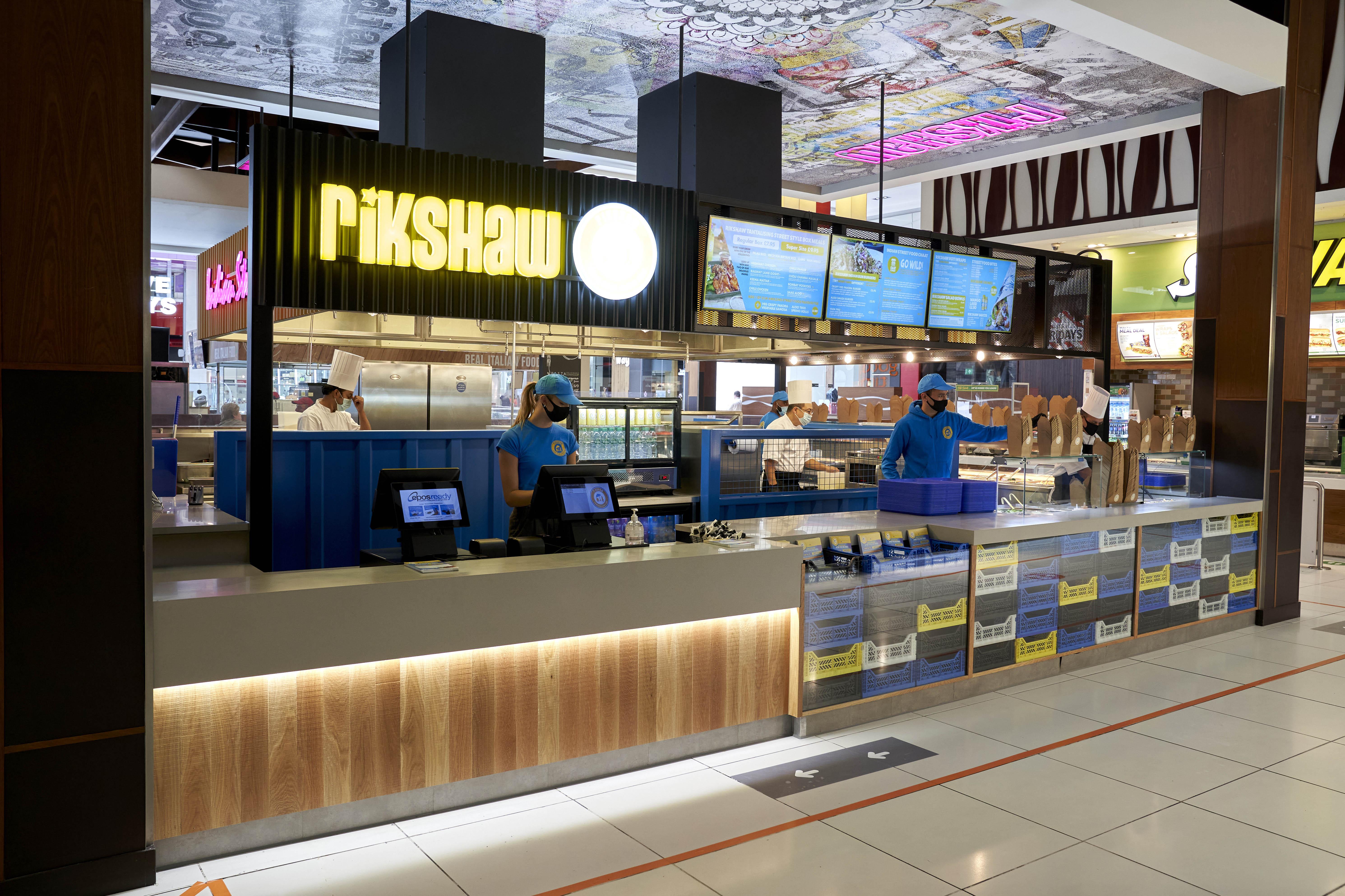 Rikshaw Urban Indian Kitchen opens at intu Derby