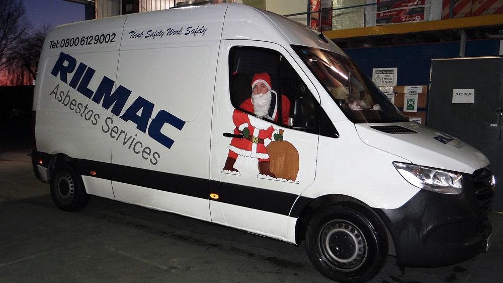 Rilmac Santa rides again for the LEAP Charity