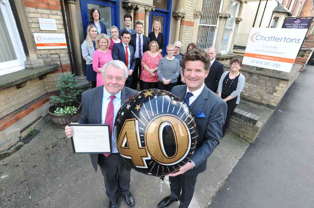 Lincolnshire solicitor celebrates 40 years in the job