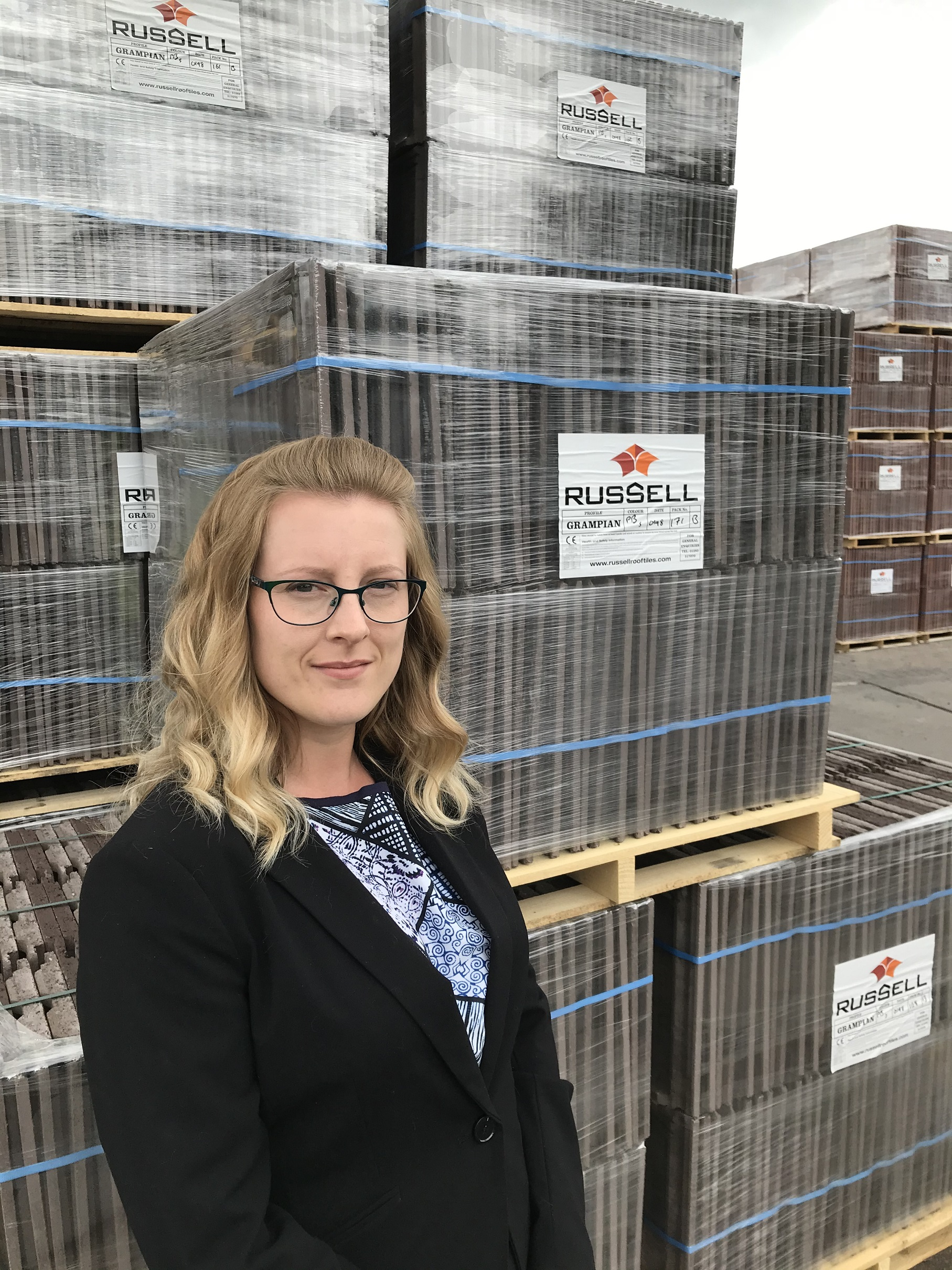 ROBYN JOINS ROOF TILE BUSINESS