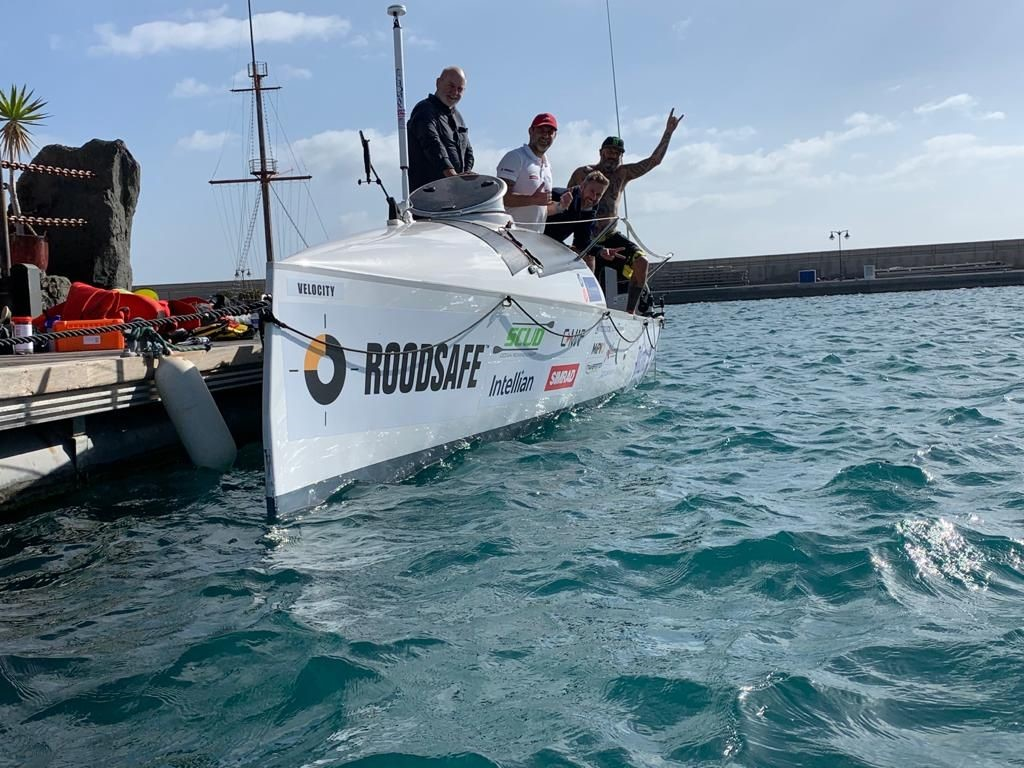Atlantic rowing challenge dream nearly sank - until Roodsafe got on board