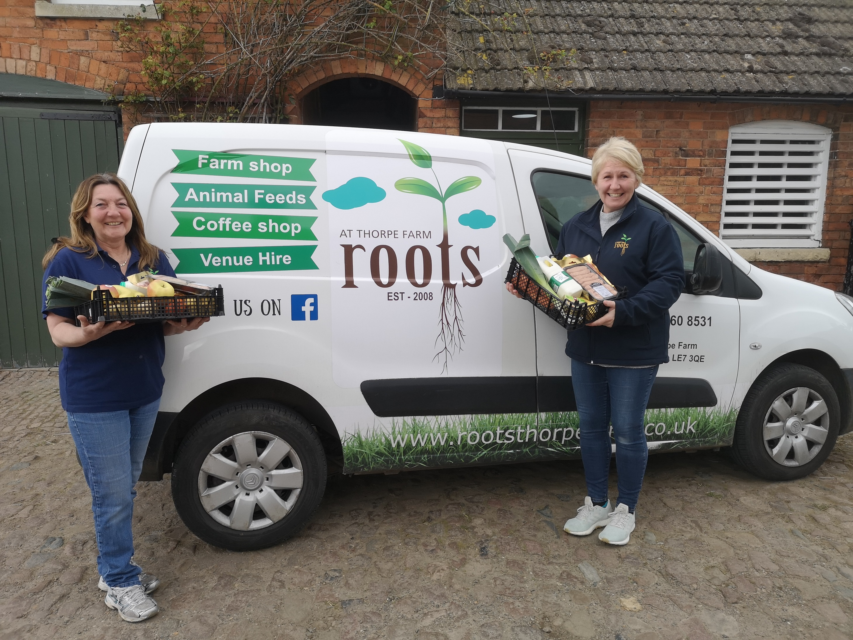 A farm shop in Leicestershire has expanded its services to help feed the vulnerable across the community.