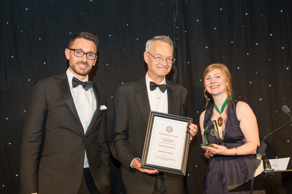 Conveyancing partner with career spanning four decades wins Lifetime Achievement Award
