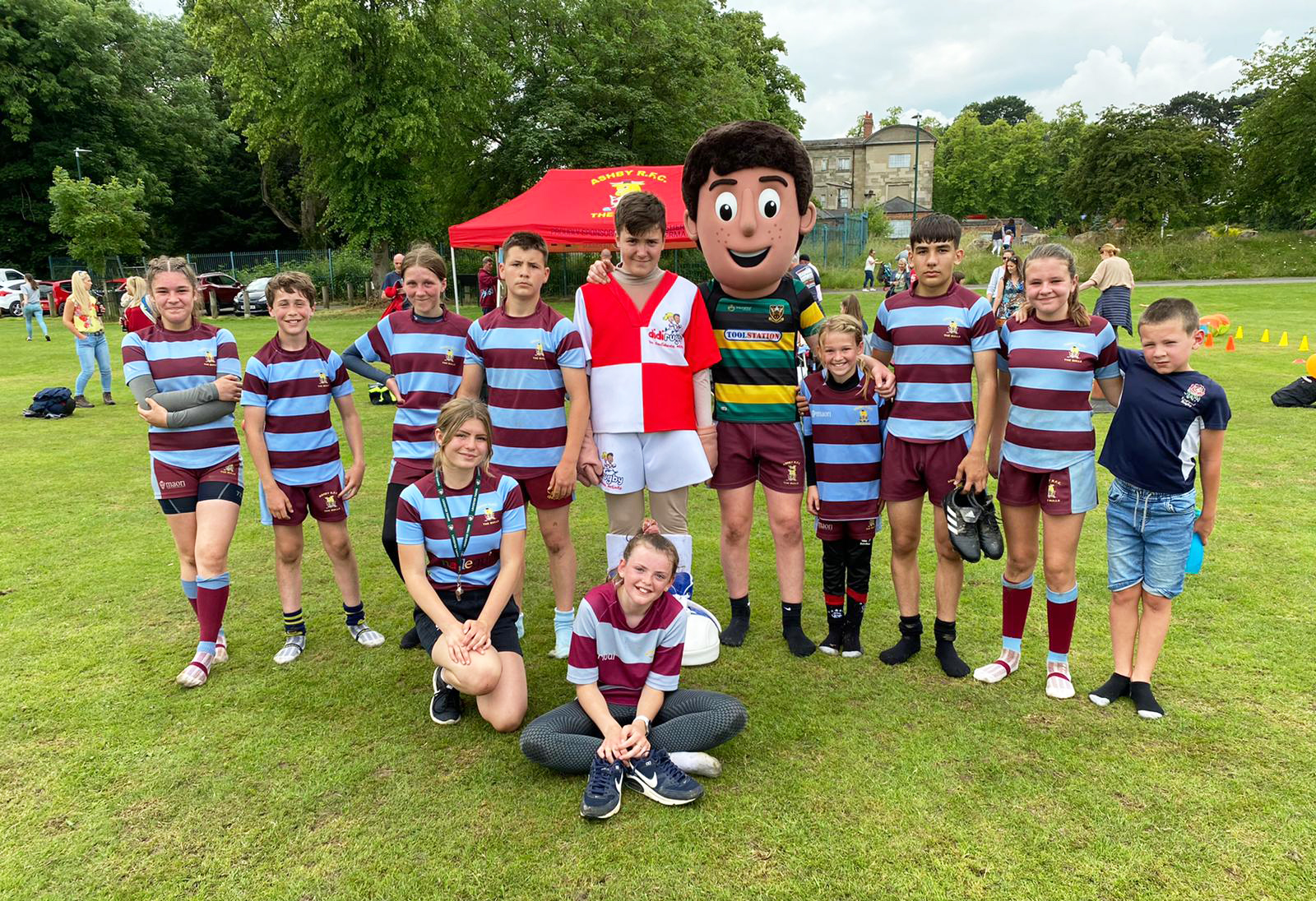 The First Ashby Sport Fun Day was a Great Success!