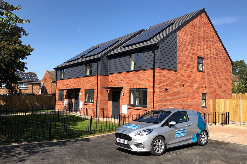 Russell Roof Tiles Sustainable Solution for Award Winning Construction Company in Nottinghamshire