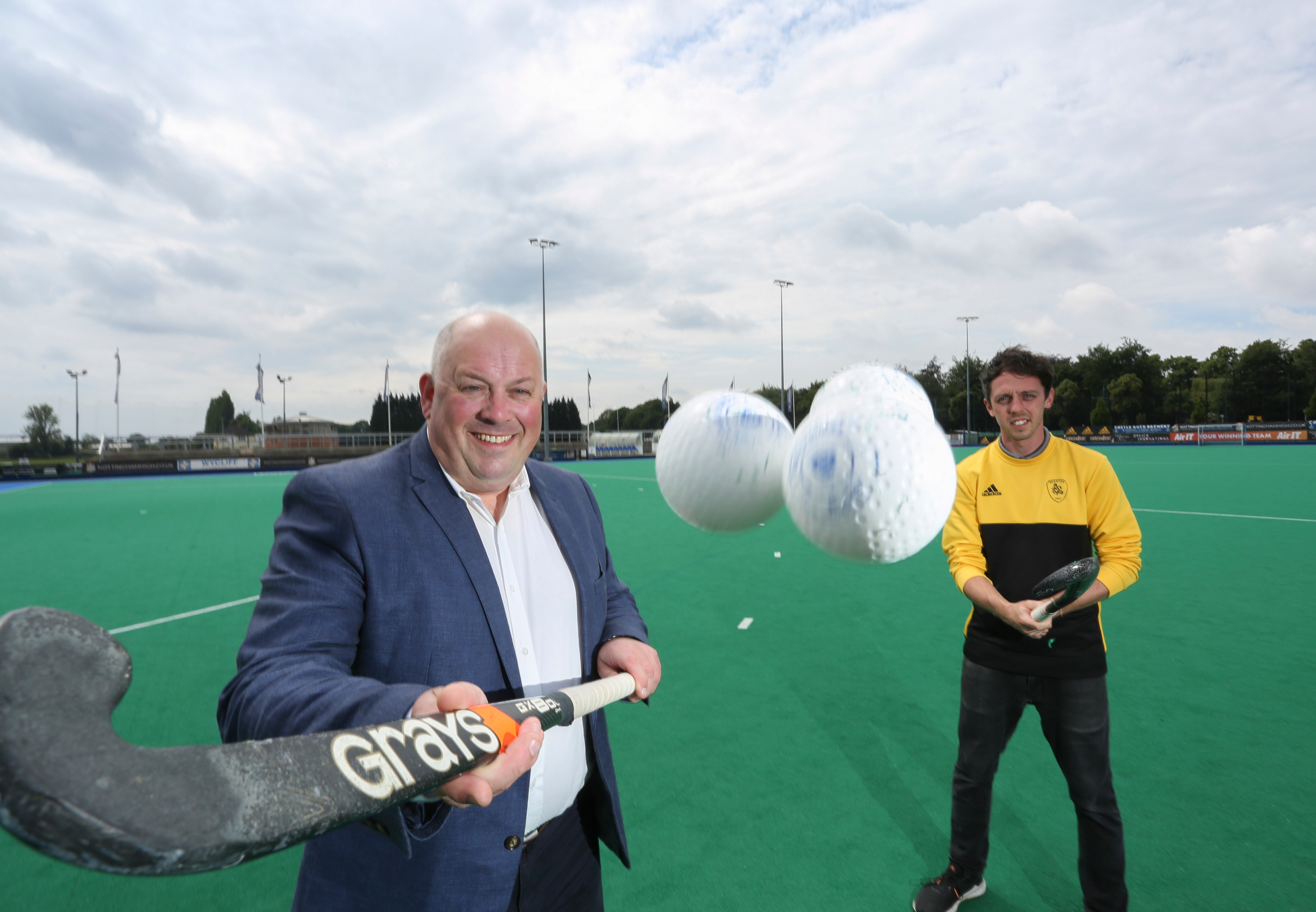 Russell Scanlan Strikes Up New Sponsorship Partnership with Beeston Hockey Club