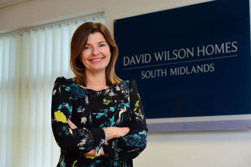 David Wilson Homes South Midlands celebrates diversity in construction with new role