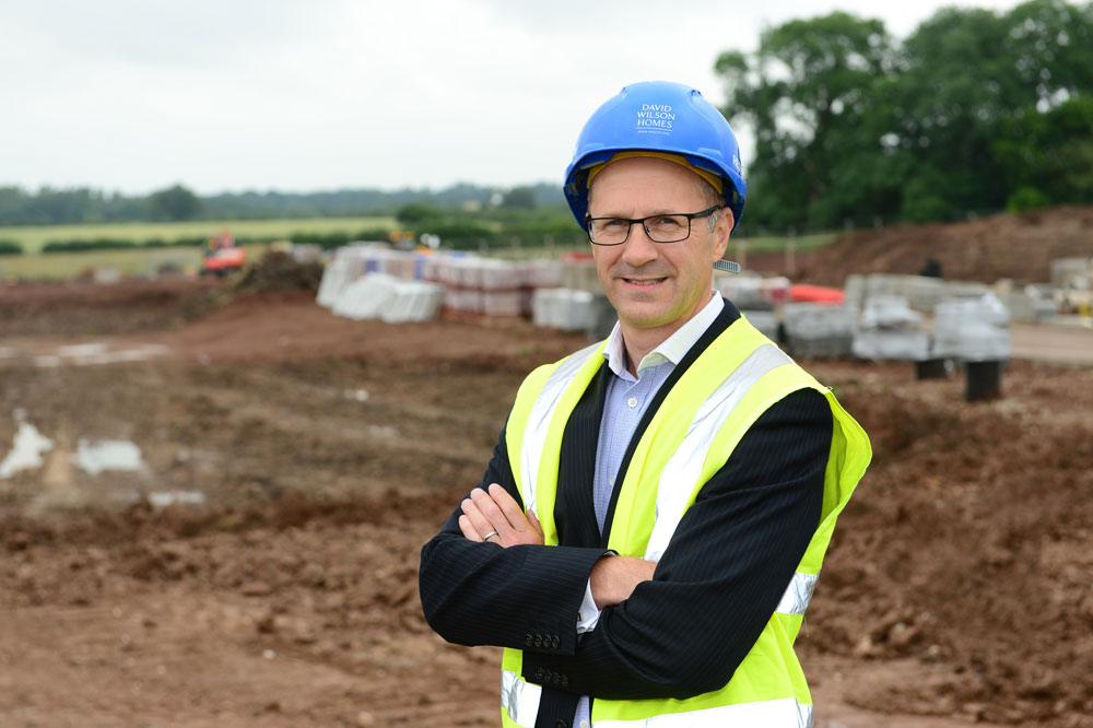 Homebuilder shows commitment to Market Harborough with over £2m investment