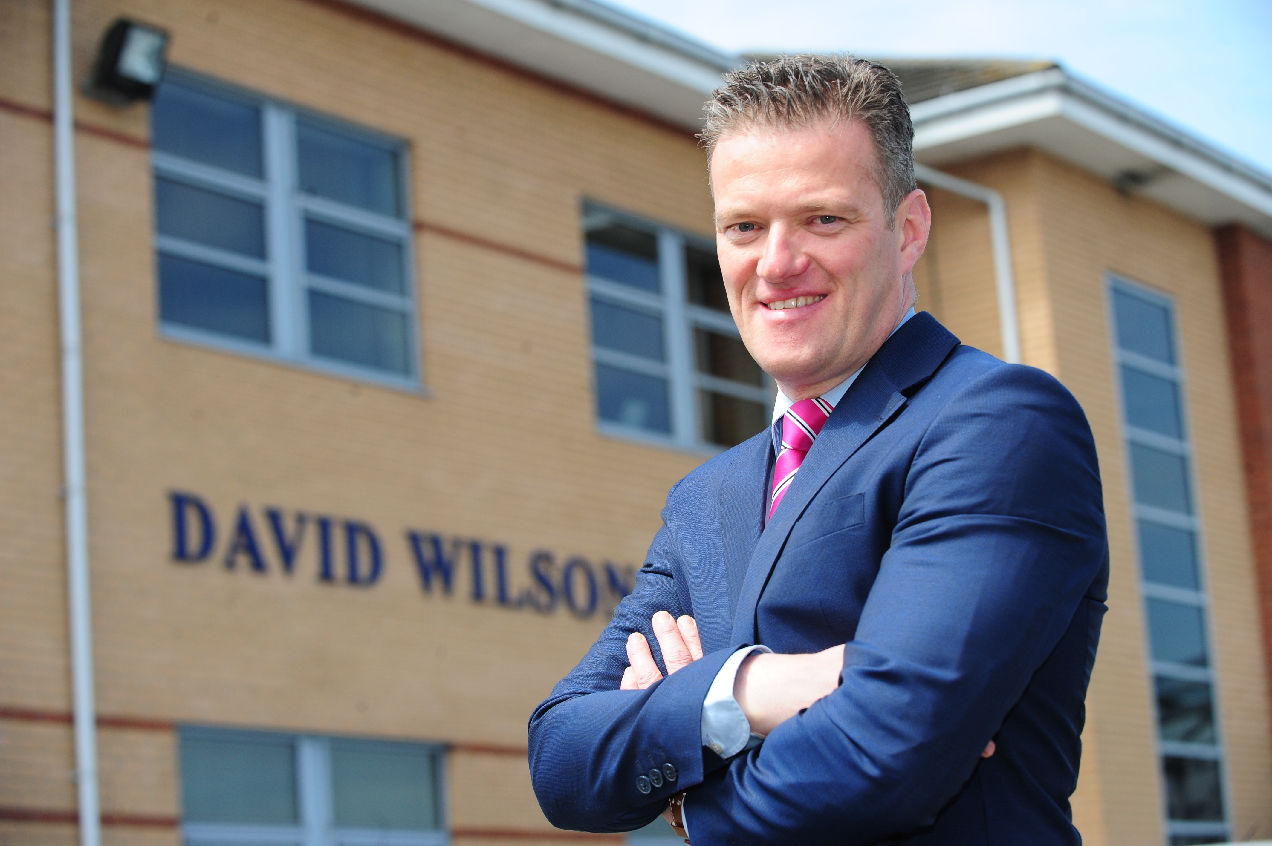 Sales Director Jason continues to build career with David Wilson Homes