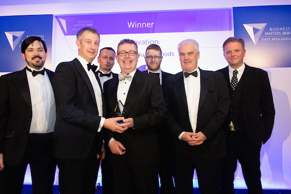 SQF recognised for commitment to innovation at prestigious business awards