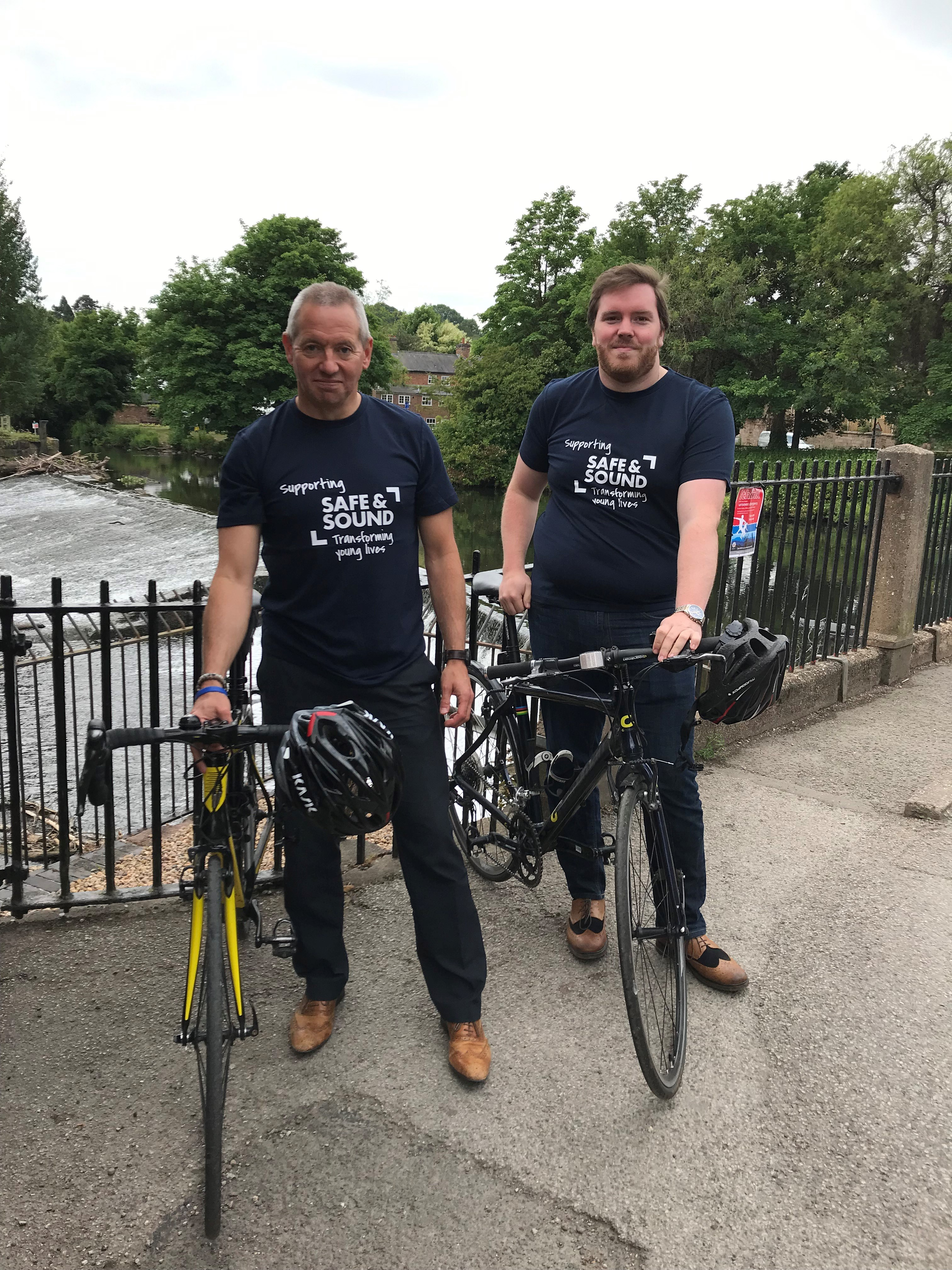Get On Your Bike And Support Safe And Sound