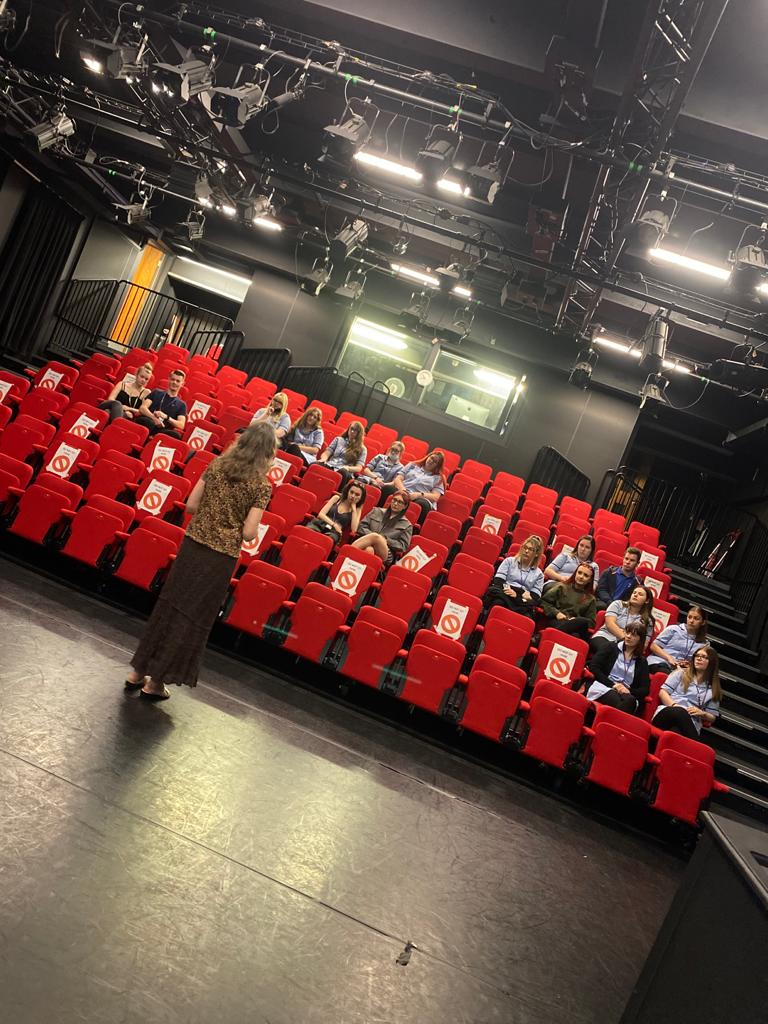 Industry knowledge-gathering day is a hit for  health and social care learners