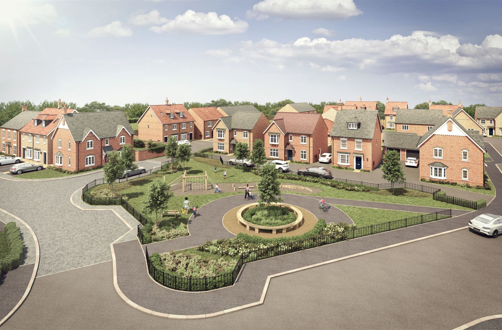 First homes go on sale three months early at popular Rushden development
