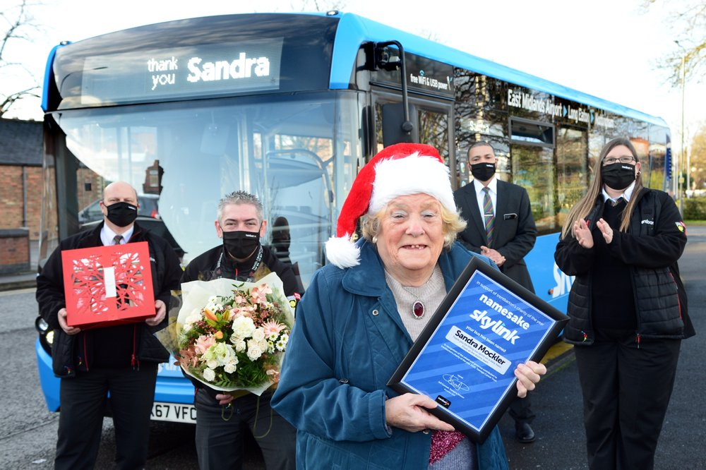 Drivers donate to name bus for generous customer