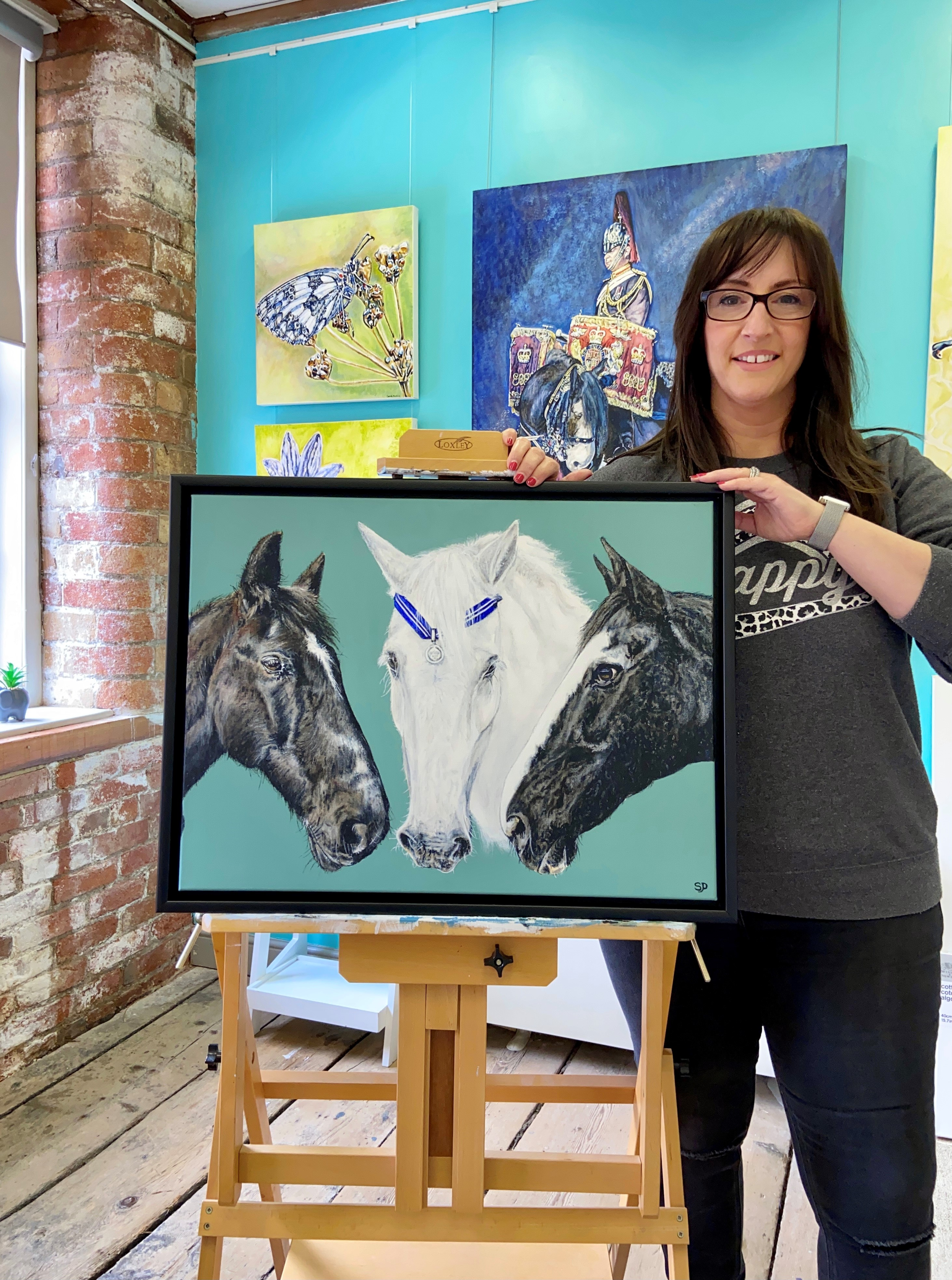 Derby artist commissioned for Horse Trust's 135th Anniversary artwork