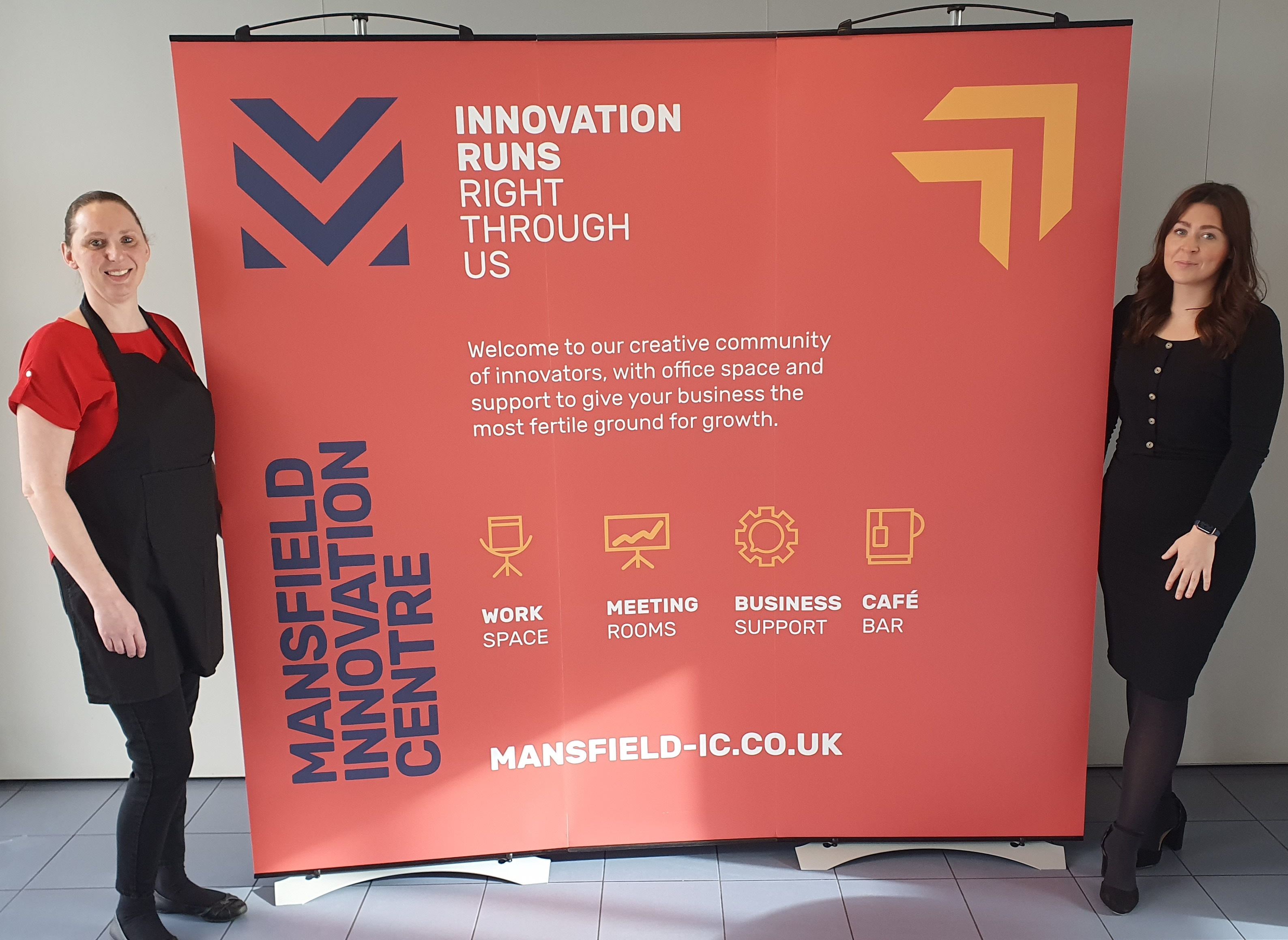 Business demand for office space increases as Mansfield Innovation Centre welcomes four new customers
