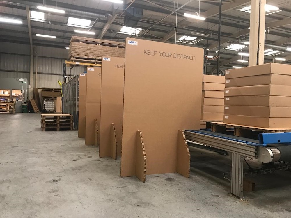 PALLITE Unveil Range of Sustainable & 100% Recyclable Distancing at Work Solutions