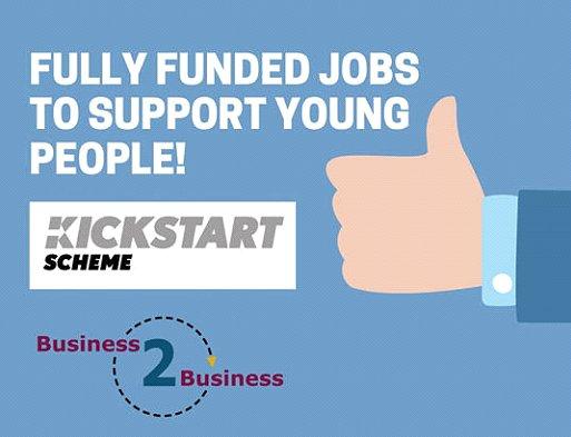 Hiring! Business 2 Business Ltd, Kickstart-UK will support as an approved government gateway.