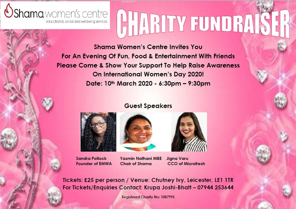 Charity Fundraiser for International Women's Day hosted by a local Women's Centre celebrating 35th anniversary for community support