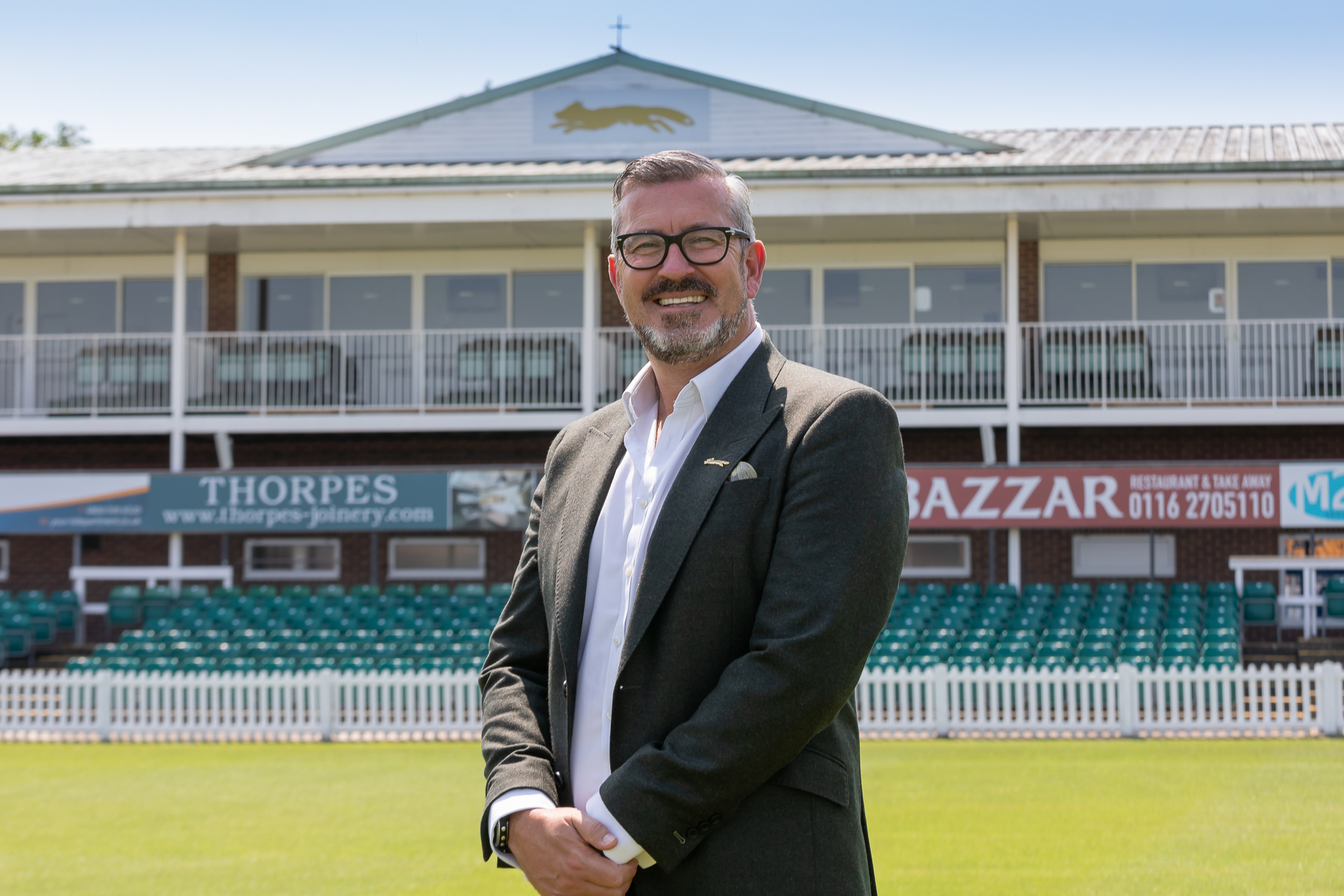 New Leicestershire County Cricket Club CEO Confident of Foxes Future